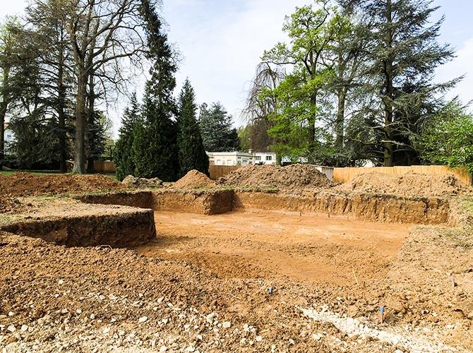 Construction écologique économique terrassement