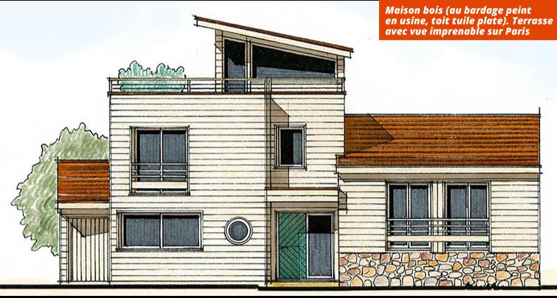 Constructeur maison ossature bois idf ventana blog for Constructeur ossature bois
