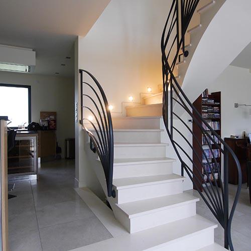 Accueil Escalier sur voûte sarrasine