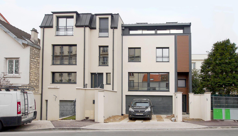 maison de ville moderne haut-de-gamme sur mesure Hauts-de-Seine