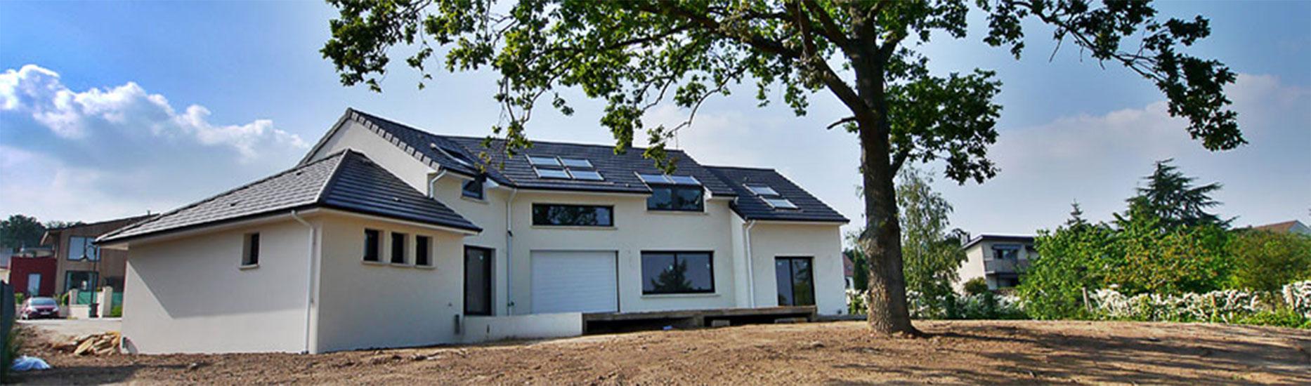 Maison design, bioclimatique, Verrières-le-Buisson, Essonne