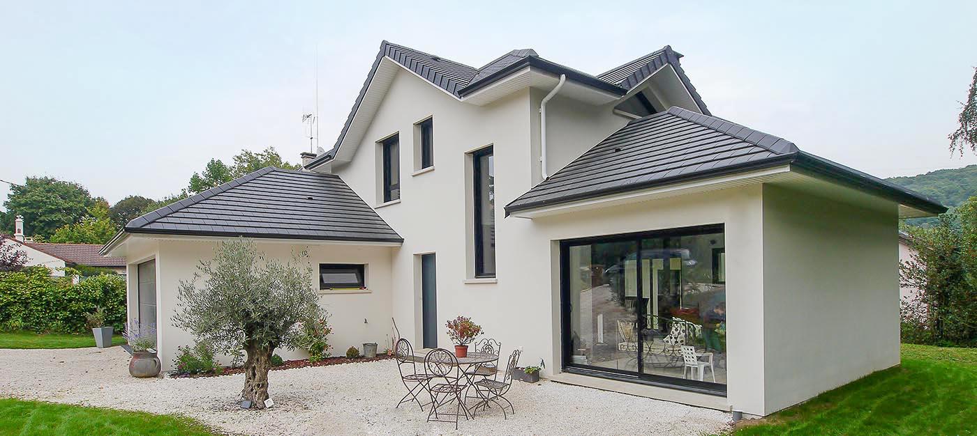 A Bièvres en Essonne, Maison design contemporaine haut-de-gamme