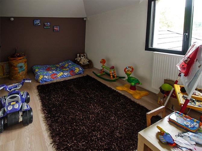 Bièvres Essonne. Contemporaine et Design. Salle de jeux des enfants