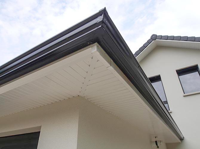 Bordure des toits