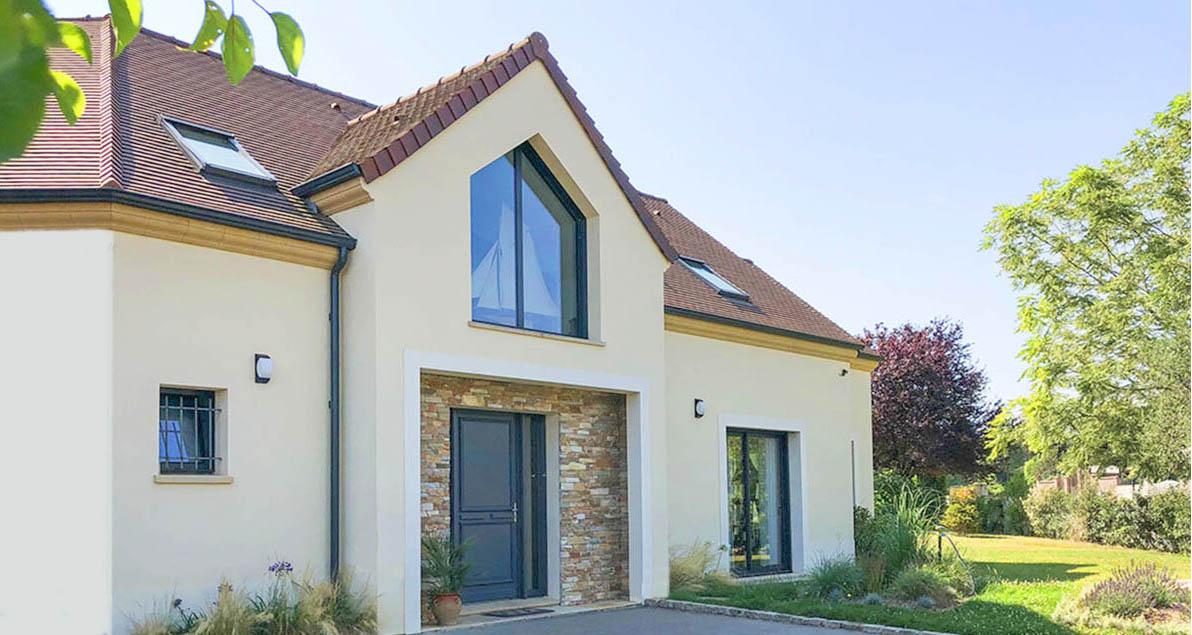Maison Ile De France Moderne Architecture Construction Yvelines