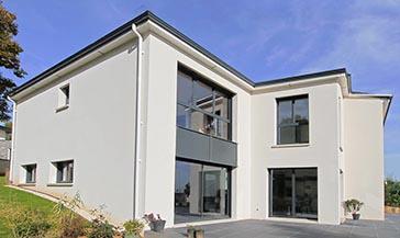 Maison design Bièvres Essonne Superbe rive de toit