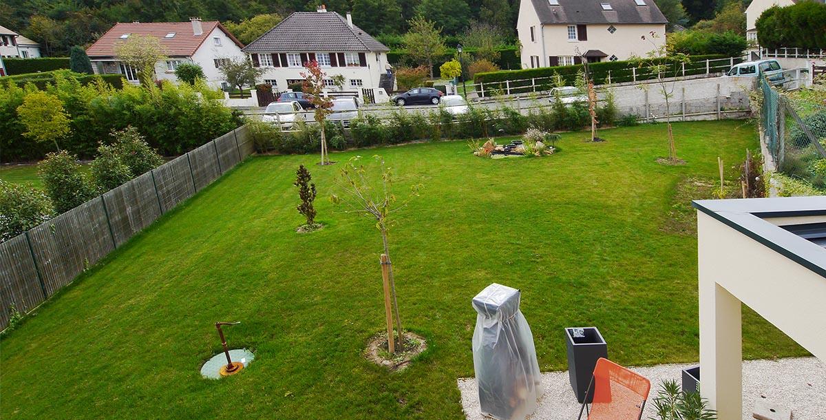 Maison mpderne originale Les Clayes sous Bois FranceMaisons-idf