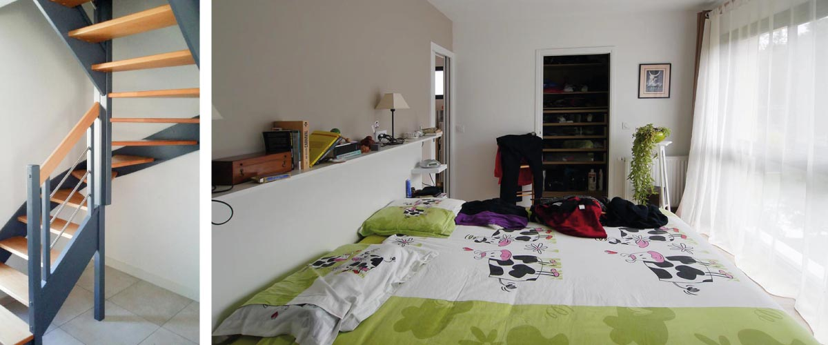 La chambre parentale. France-Maisons-idf