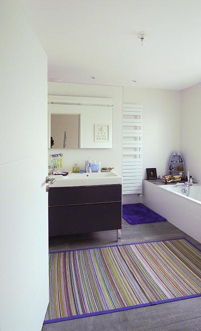 Moderne, design, contemporaine. Salle de bains