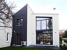Maison asymétrique France-Maisons-idf Constructeur