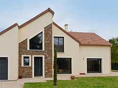 Yvelines, moderne asymétrique France-Maisons-idf Constructeur