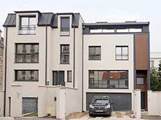 Deux maisons de ville France-Maisons-idf Constructeur