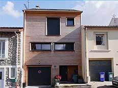 Maison bois sur pilotis France-Maisons-idf Constructeur