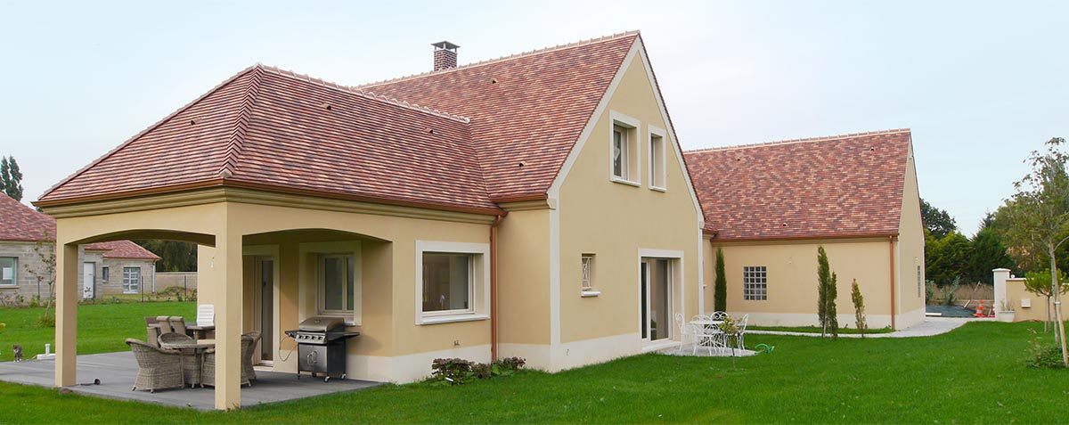 Maison Bioclimatique cologique Contemporaine En Yvelines
