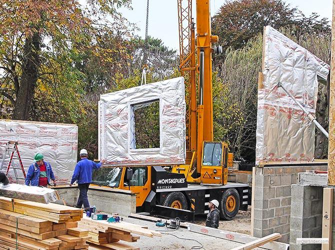 France-Maisons-idf Construction d'une maison bois