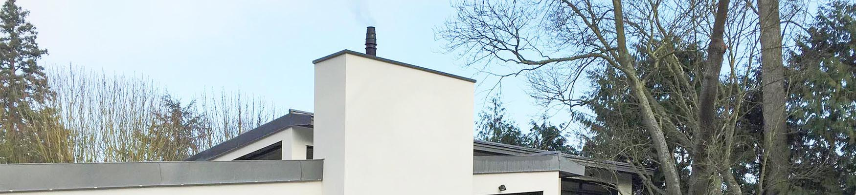 Maison ossature bois ravalement classique hauts de seine