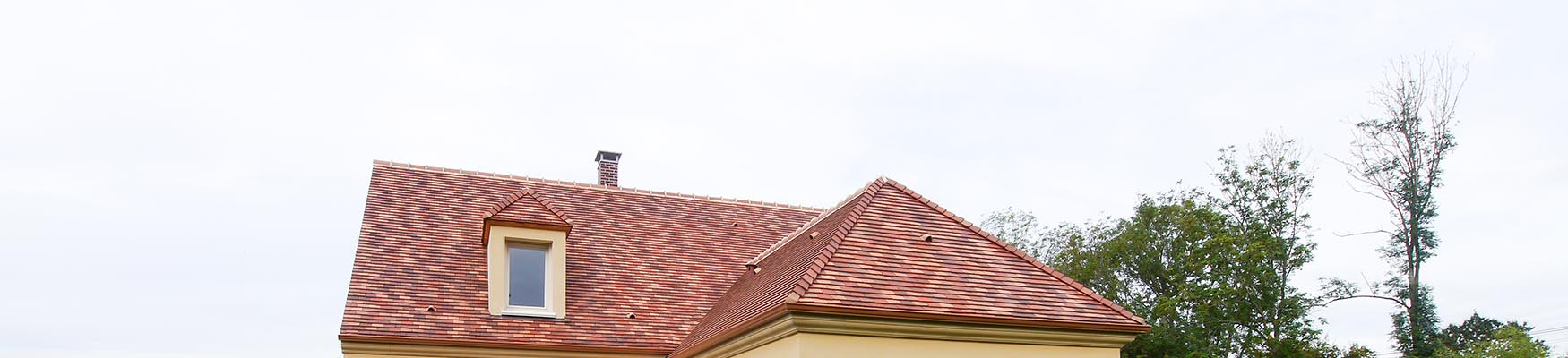 Une ligne de toit mouvementée