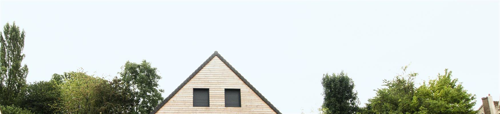 Francemaisons idf maisons bois votre mesure marcq thoiry yvelines for Maison bois sur mesure